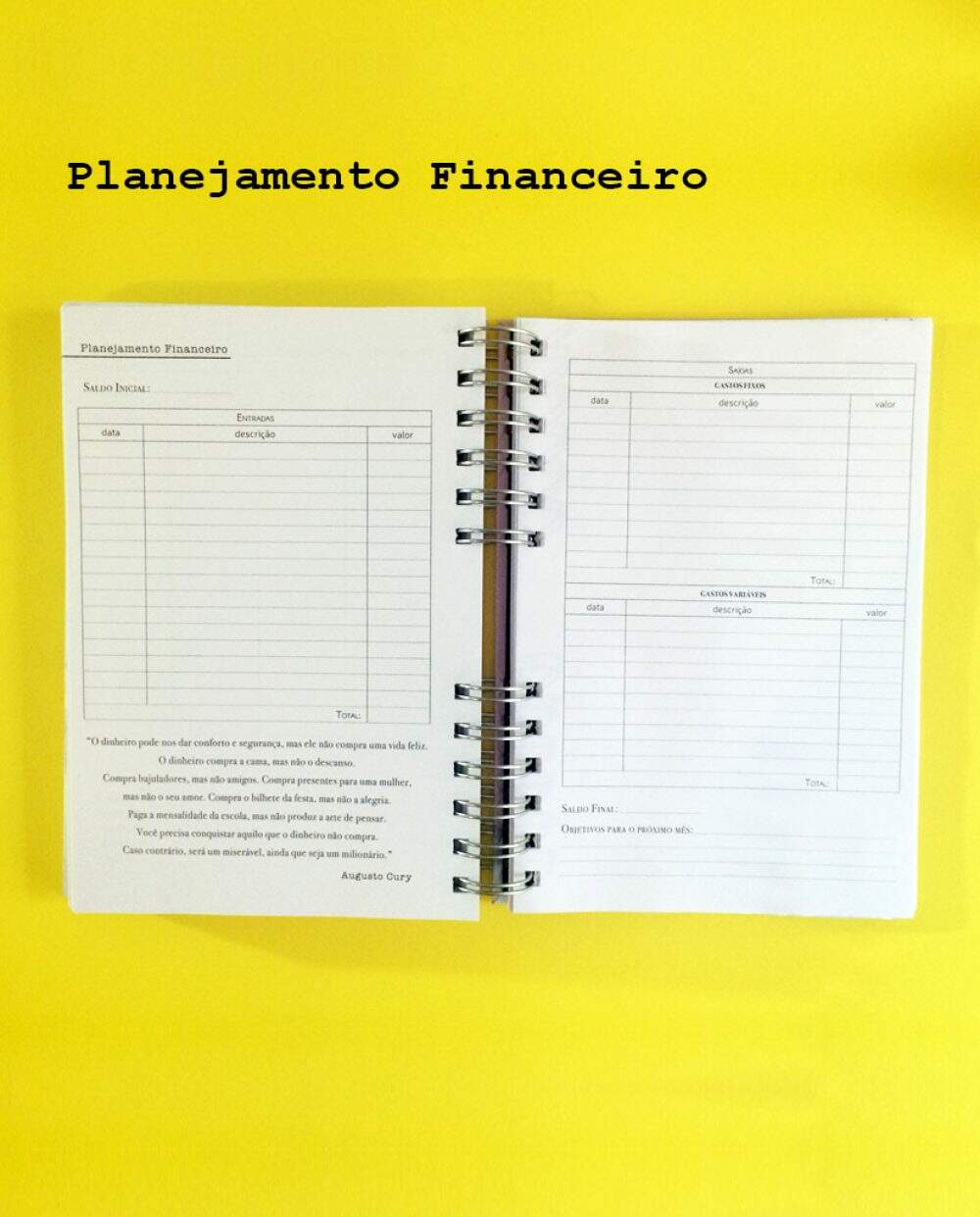 Planner Planner Realize - Miolo XII